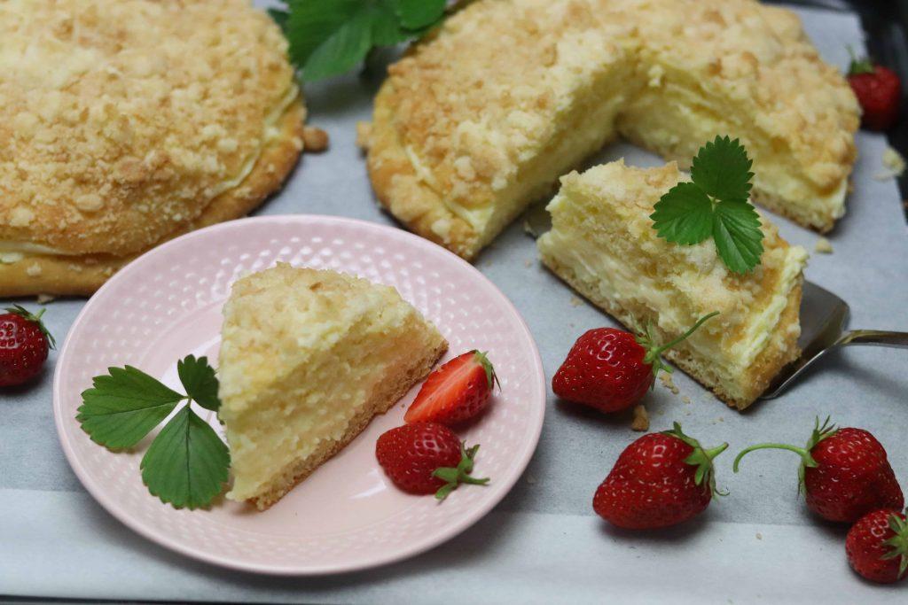 Pražský koláč z mouky Pernerka