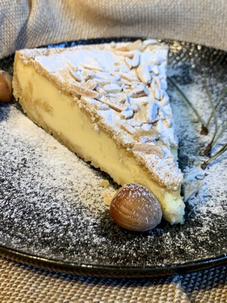 Pudingový koláč ze špaldové mouky Pernerka