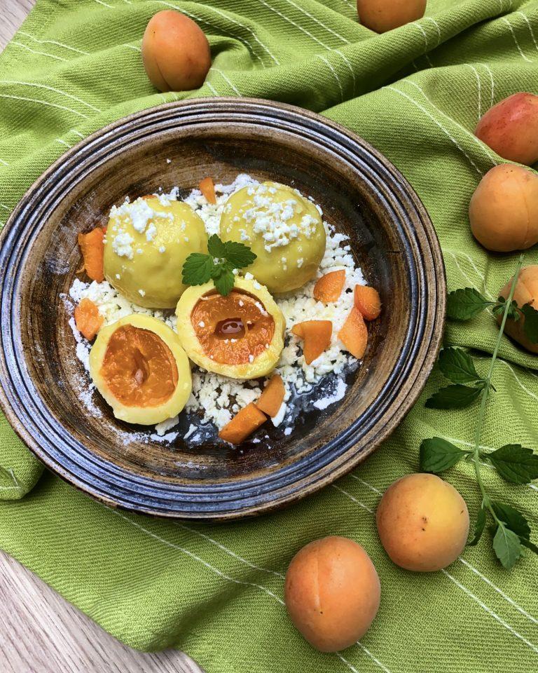 Ovocné knedlíky z rýžové mouky Pernerka