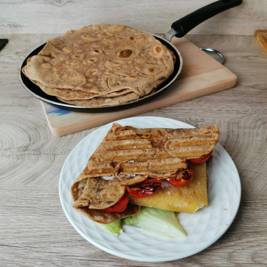 Tortilla z ceozrné pšeničné mouky Pernerka