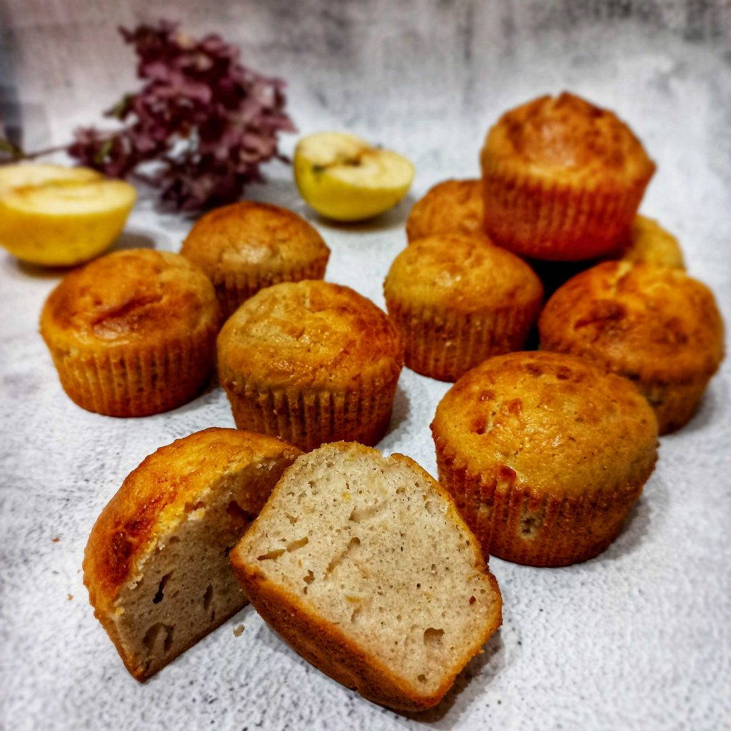 Celozrnné muffiny z pohankové mouky Pernerka